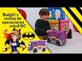 Vídeo: Batgirl y centro de operaciones móvil DC Mattel + 6 años