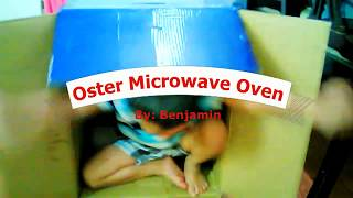 oster 0 9 cu ft countertop microwave 17 5   output 900w