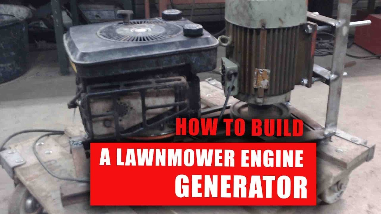 5 Ways to Repurpose a Lawn Mower Engine - Struck Corp
