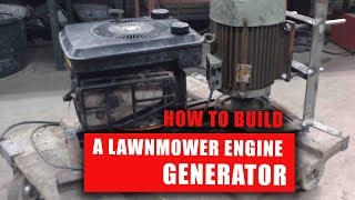 DIY Lawnmower Generator I