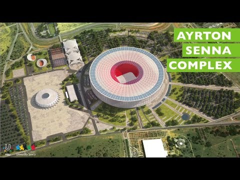 The city and sports - Summer Universiade 2019 Brasilia - Brazil