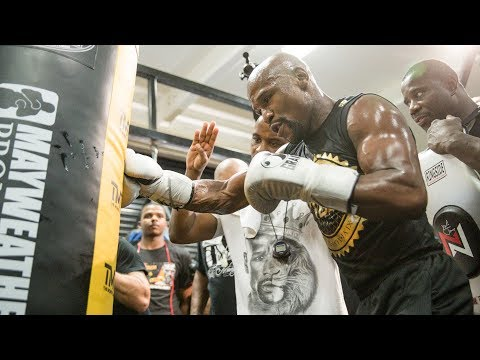 Floyd Mayweather: Media Workout | Mayweather vs. McGregor - Aug 26. on SHOWTIME PPV