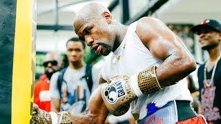 Floyd Mayweather: Media Workout   Mayweather vs. McGregor - 8/26 on SHOWTIME PPV