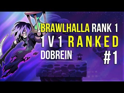 Brawlhalla - Rank 1, 1v1 Ranked Gameplay #1