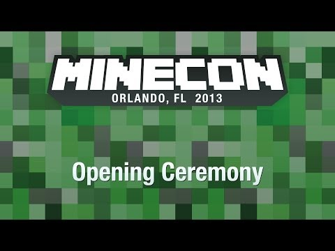 MINECON 2013 Opening Ceremony