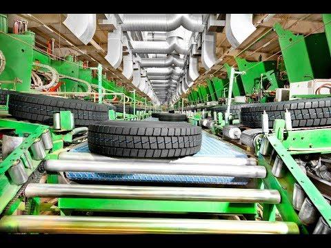 Tyres manufacturing process | टायर बनाने की तकनीक