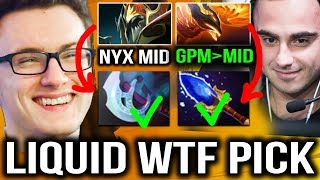 WTF PICK CRAZY GAME - LIQUID VS MiDORFEED  DreamLeague Season 8 [Game 2]