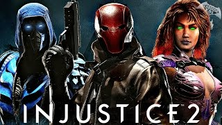 Injustice 2 - Red Hood, Starfire and Sub Zero Character Bios Revealed!