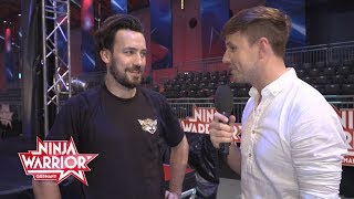 Ninja Warrior Germany: Backstage - Jan Köppen testet den Parcours