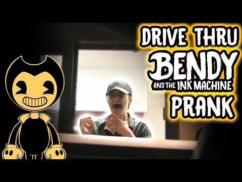 DRIVE THRU BENDY AND THE INK MACHINE! (CHAPTER 3)
