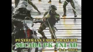 Penerimaan Bintara Secaba PK TNI AD 2015