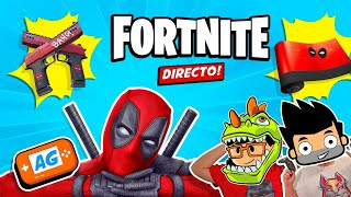 Nueva Skin de DEADPOOL en Fortnite  Rompe con todo! Team DEADPOOL!