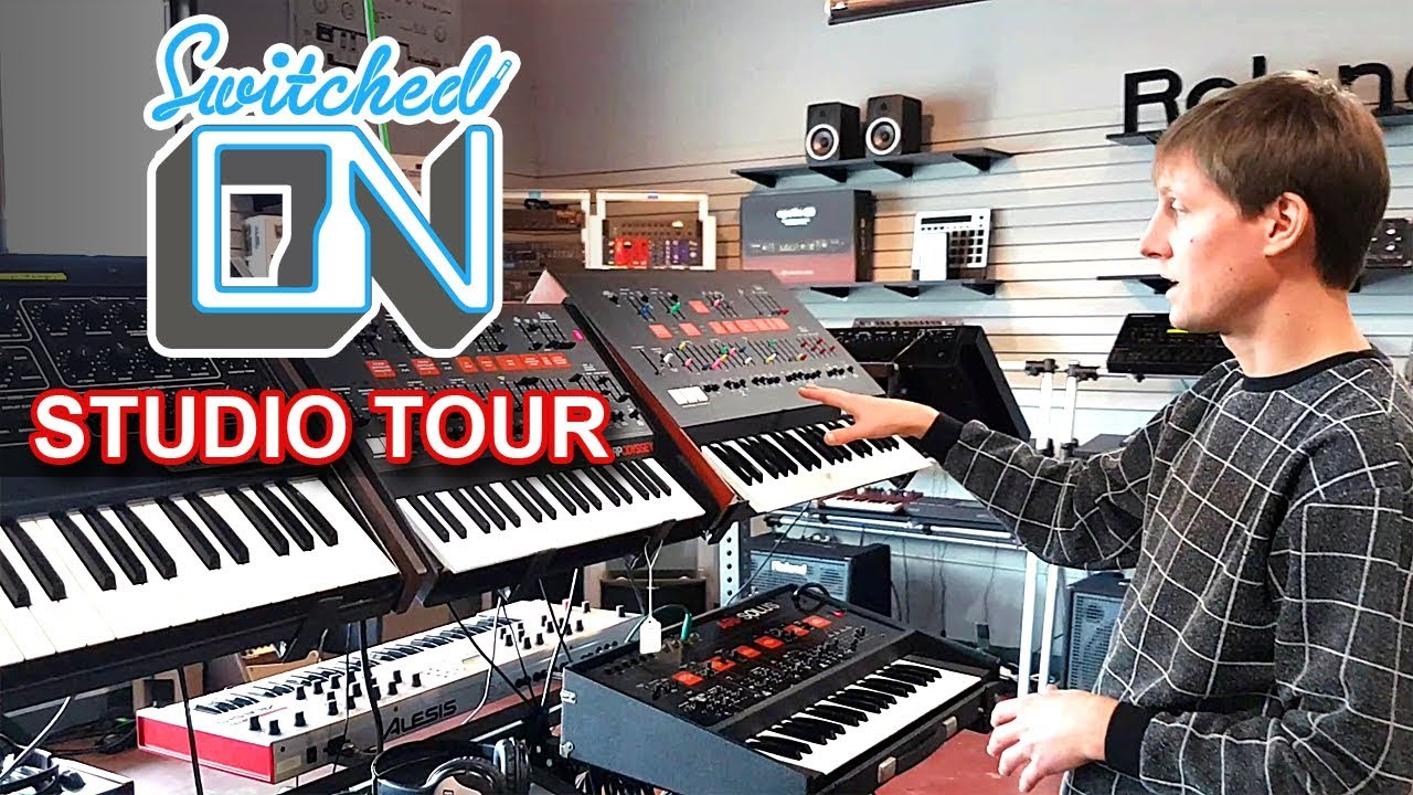 Switched On Austin Synth Studio Office Tour Synthesizer Reviews