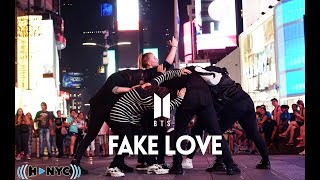 [KPOP IN PUBLIC CHALLENGE NYC] BTS (방탄소년단) - FAKE LOVE Dance Cover