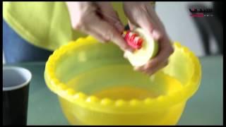 بالفيديو: كيفَ تعقّمينَ فرشاةَ الأسنان؟