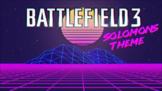 Battlefield 3 Soundtrack - Solomon's Theme (EurocorpFx 80s Retrowave Remix)