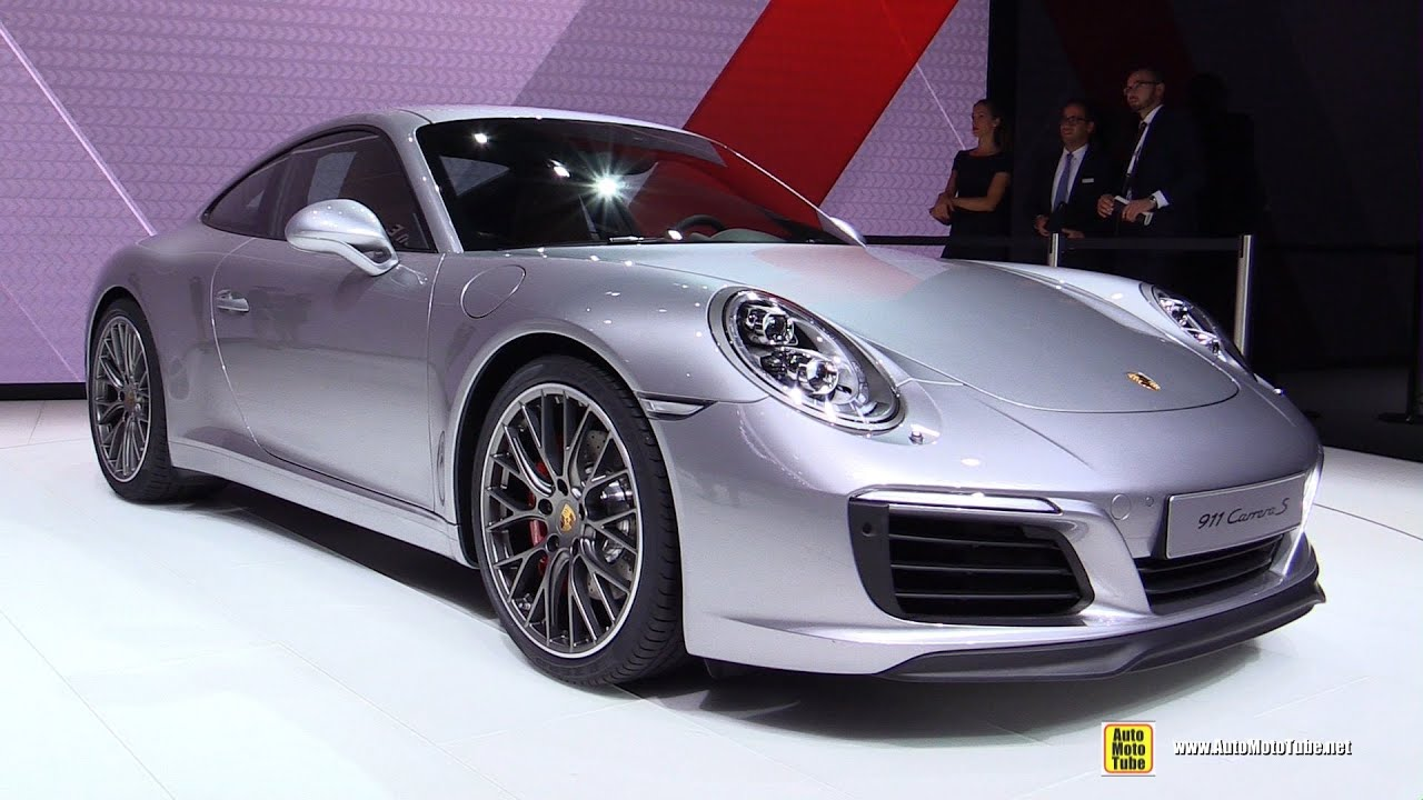 2017 Porsche 911 Carrera S Exterior And Interior Walkaround Debut At Frankfurt Motor Show You