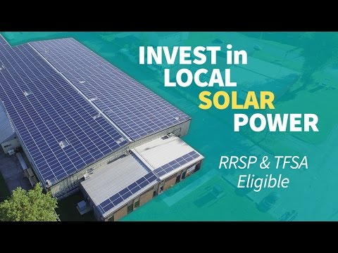 Invest in Local Solar Power Projects Throughout Eastern Ontario