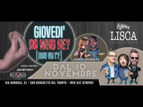 GIOVEDI - Do Who He? - LISCA AudioCulinaria