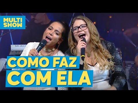 Como Faz Com Ela  Marília Mendonça + Anitta  Música Boa Ao Vivo com Anitta  Multishow