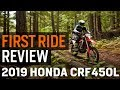 Honda CRF450L First Ride Review