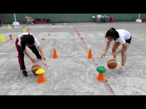 Educación Física Circuito Basquetbol 04