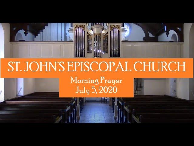 St Johns Episcopal Church Hampton VA Morning Prayer 2 July 5, 2020