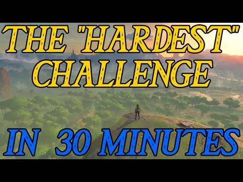 Breath of the Wild - The Great Plateau Challenge in Less Than 30 Minutes!