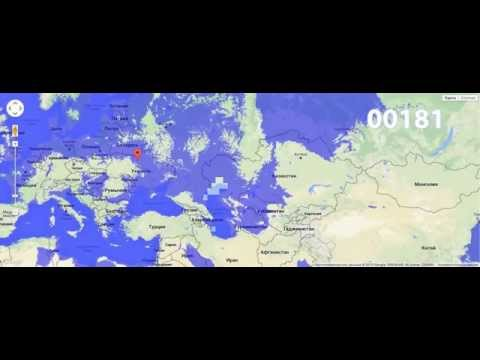 Europe Flood 0-250m