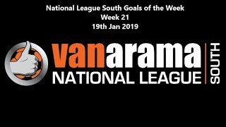 National League South Goals of the Week: Week 21