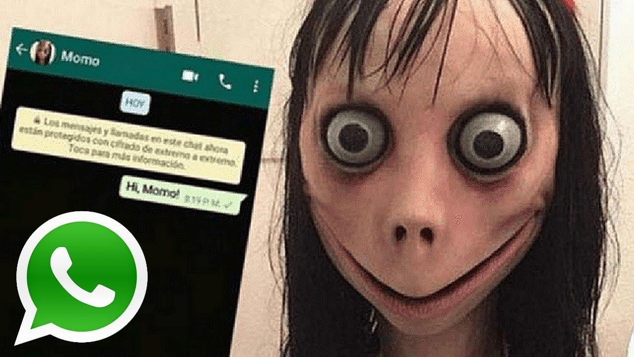 Karakter Momo Cemaskan Orang Tua di Seluruh Dunia