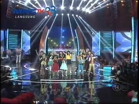 MNCTV Dangdut Awards (11/12) - 11 Finalis Indonesian Idol Junior