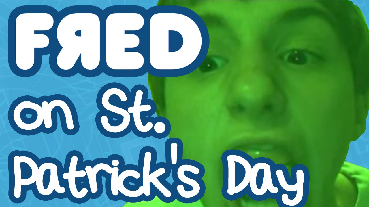 Fred on St. Patrick's Day - YouTube