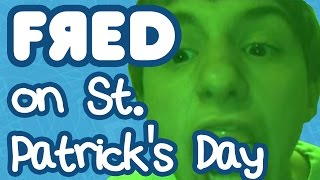 Fred on St. Patrick's Day Top 10 Video