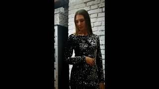 Нарядное платье с пайетками. Успей купить до Нового Года. Одежда из Италии в Москве