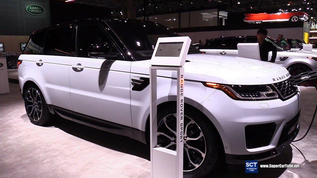 2020 Range Rover Sport HSE PHEV - Exterior and Interior Walkaround - 2019 New York Auto Show