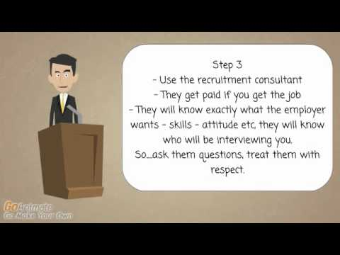 Interview Skills - Don't go to an interview until you have watched this. 4 important steps