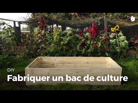Fabriquer un bac de culture
