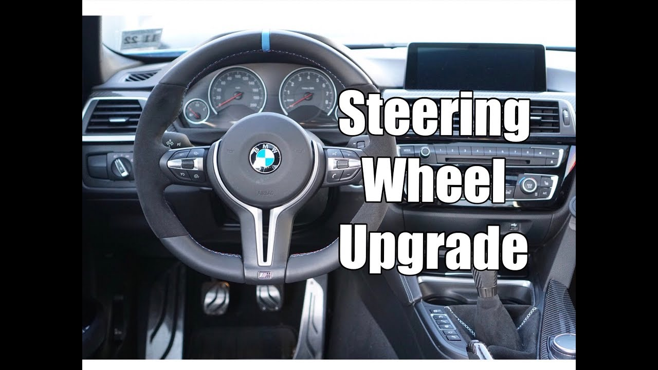 Vlog 22 M Performance V2 Steering Wheel Install In A 2017 Bmw M3