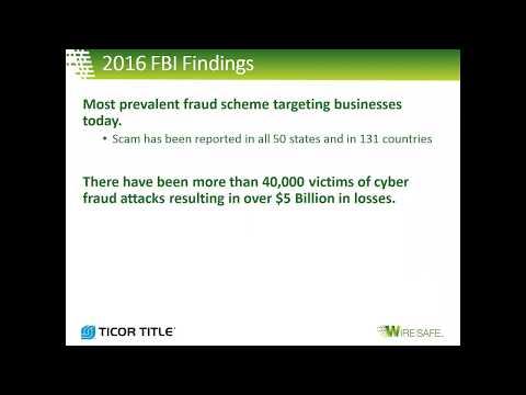 ARG Wednesday Webinar | Wire Fraud Webinar