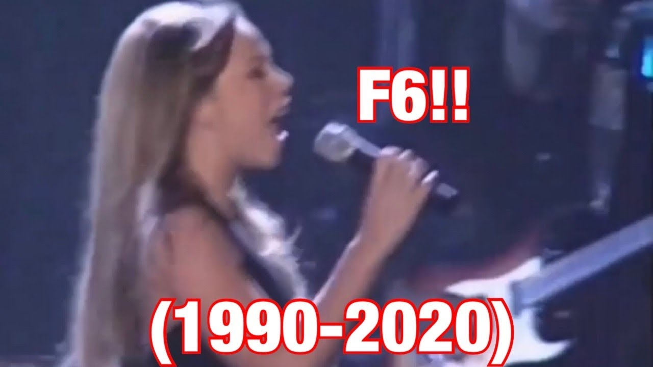 Download Mariah Carey F6 Note Through out the Years