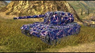 FV4004 ● FV4005  ● World of Tanks Blitz screenshot 1