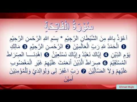 Surat Al Fatihah Terjemah Jawa Ala Pesantren