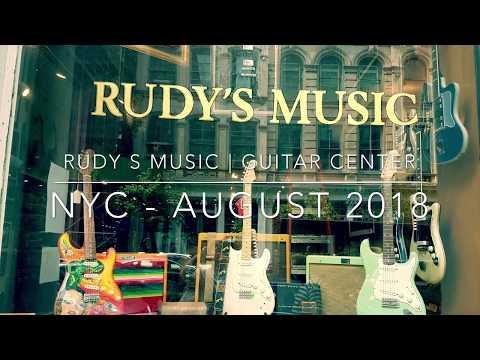New York City Guitar Shops : Rudy's Music Soho | Guitar Center Times Square
