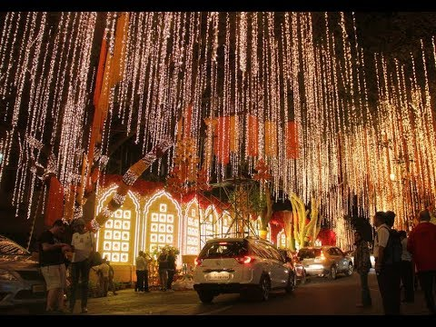 Mukesh Ambani's residence 'Antilla' decked up for Isha-Anand's wedding