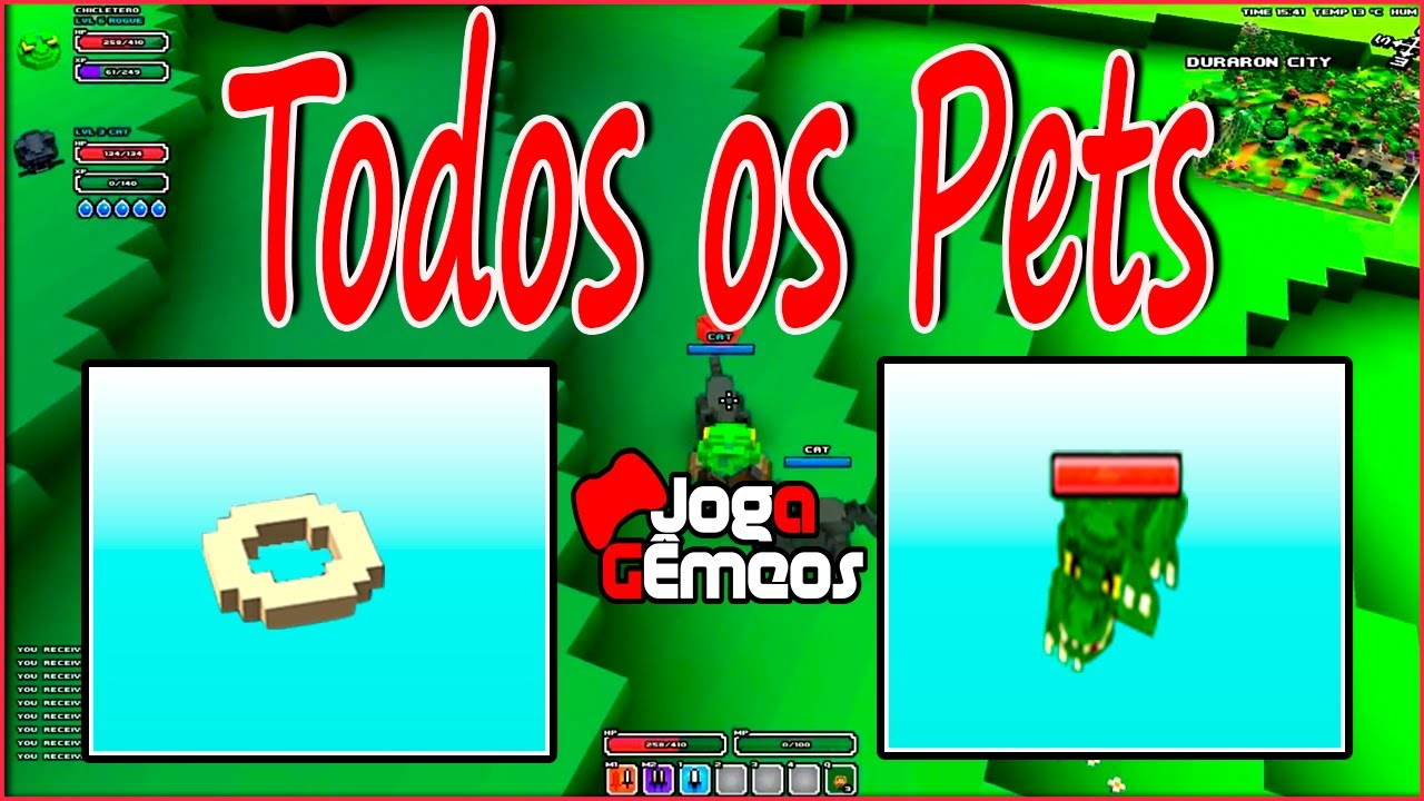 Cube World Pet Food Seed