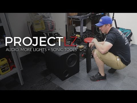 The LZ Garage Project Conclusion: E1 - Audio, More Lights, & Sonic Tools