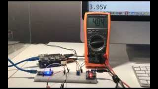thanks to arduino raspberry pi can measure 0 5v voltage