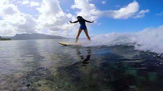Урок серфинга. Прямое включение с Маврикия 11 сентября 2015