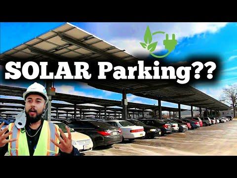 Solar Parking | Cost | installation | Maintenance | Future Technology